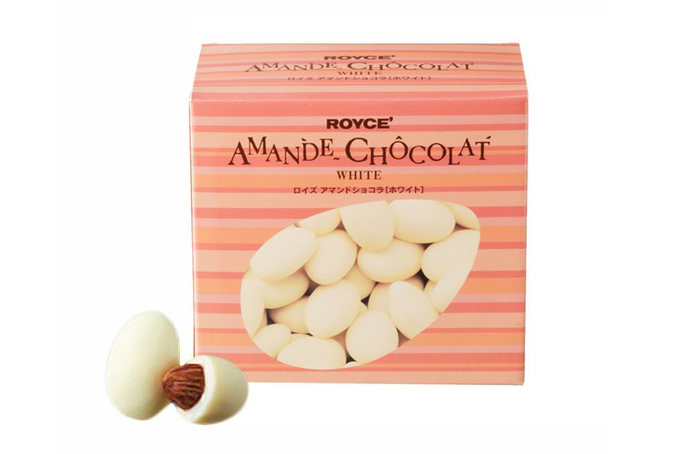 Миндаль в белом шоколаде. Amande Chocolat «White»