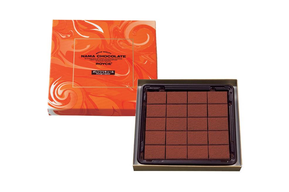 Нама-шоколад «Апельсиновый ликер». Nama Chocolate «Orange Liquor»