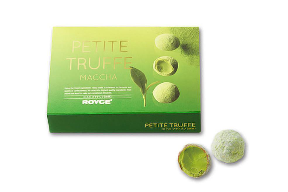 Мини-трюфели «Зеленый чай». Petite Truffe «Matcha»