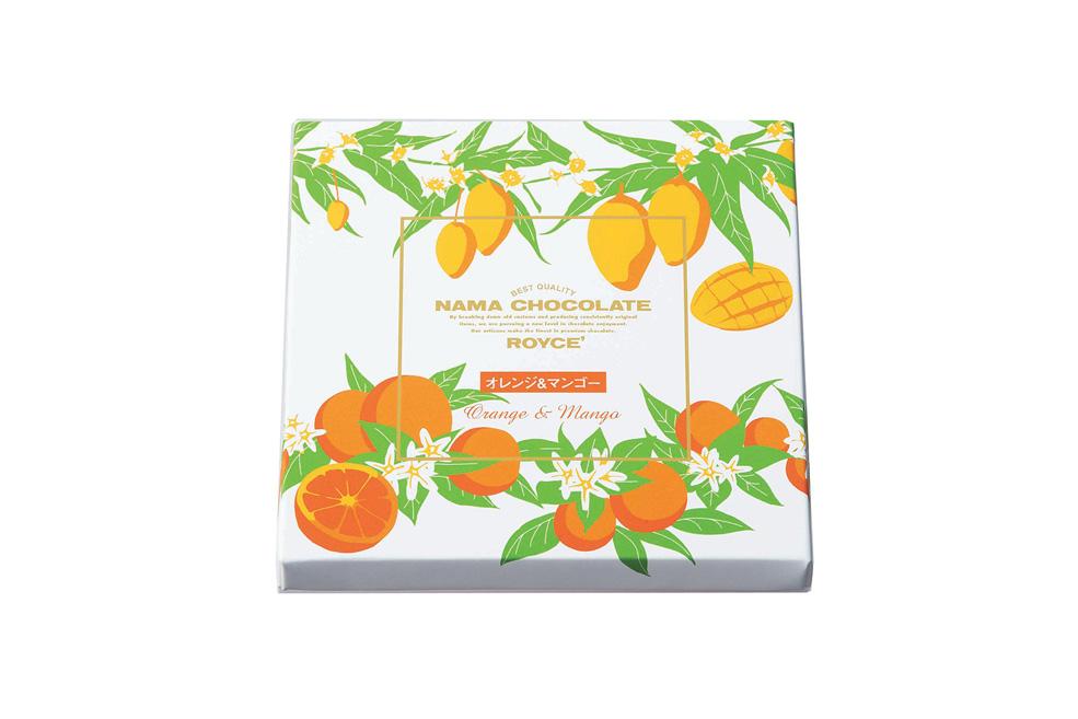 Нама шоколад  «Апельсин и Манго».   Nama Chocolate «Orange & Mango»