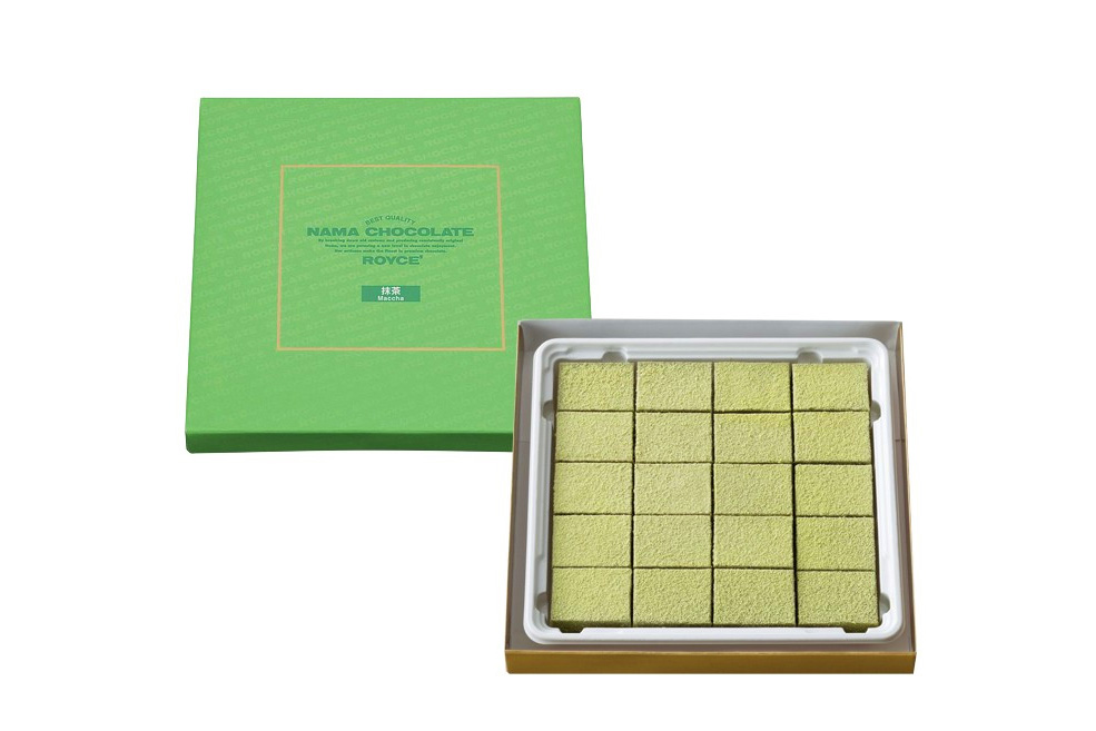 Нама шоколад «Зеленый чай». Nama Chocolate «Matcha»