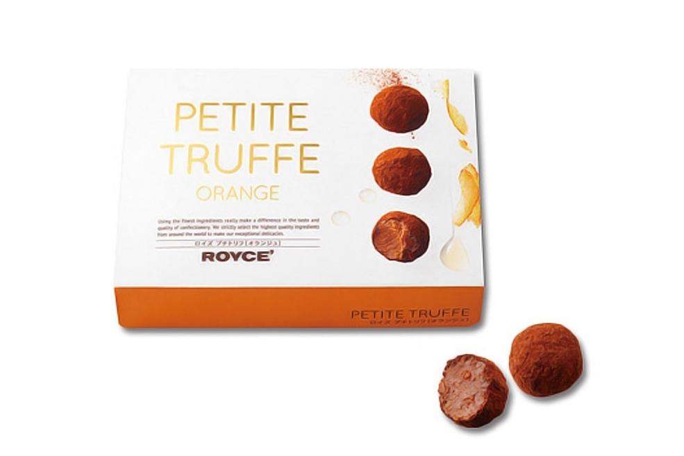 Мини-трюфели «Апельсиновые». Petite Truffe «Orange»