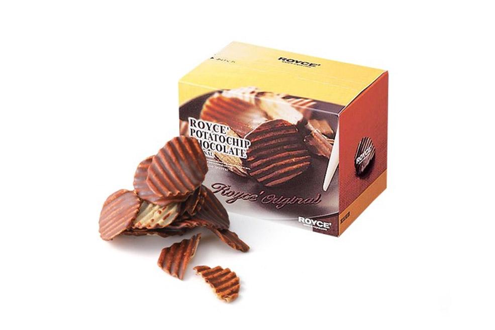 Чипсы в шоколаде «Оригинальные». Potatochip Chocolate «Original»