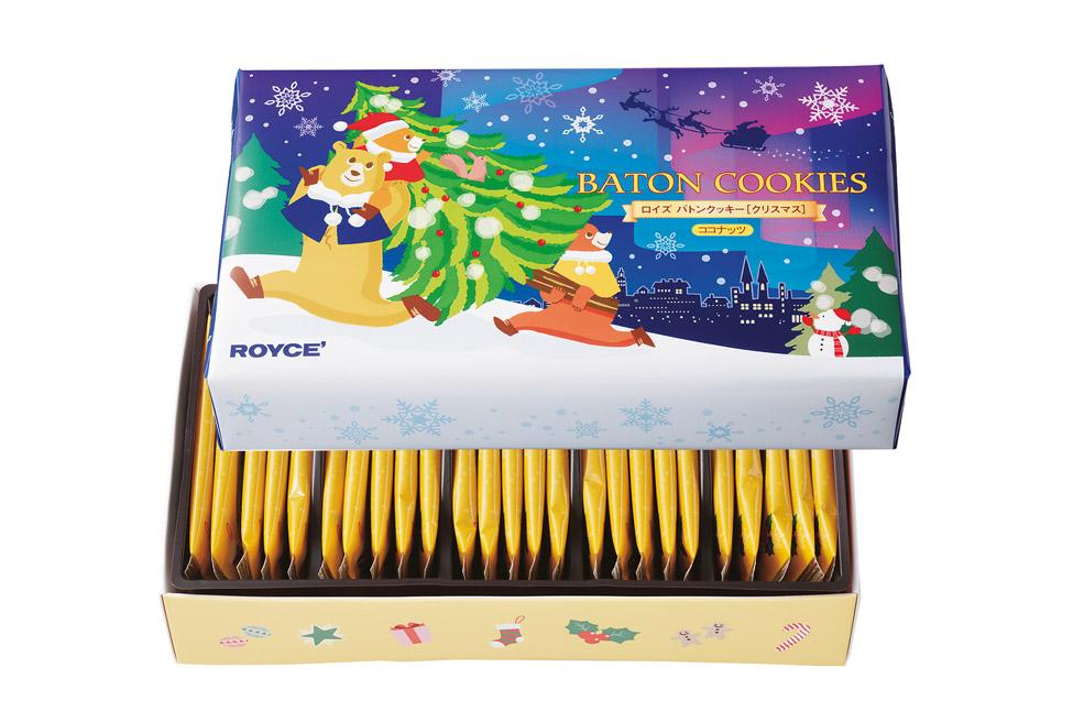 Новогодние печенье-палочки ROYCE'. Baton Cookies «Christmas»