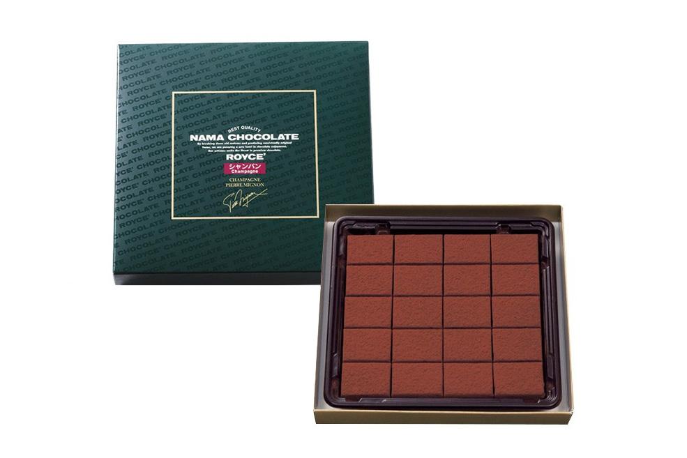 Нама шоколад «Шампанское (Pierre Mignon)». Nama Chocolate «Champagne (Pierre Mignon)»