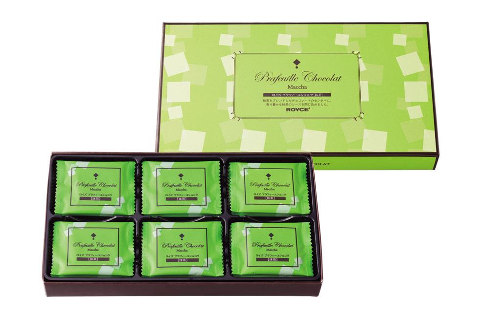 Шоколадные листики «Зеленый чай». Prafeuille Chocolat «Matcha»