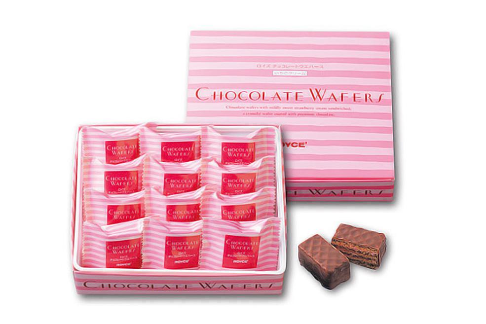 Вафли в шоколаде «Клубника». Chocolate Wafers «Strawberry Cream»