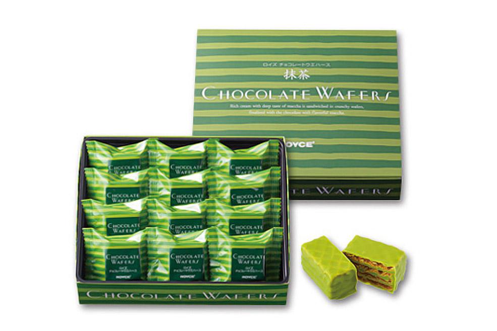 Вафли в шоколаде «Зеленый чай». Chocolate Wafers «Matcha»
