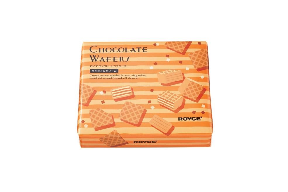 Вафли в шоколаде «Карамельные». Chocolate Wafers «Caramel Cream»