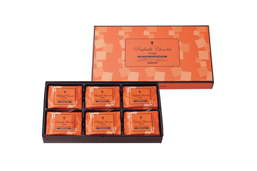 Шоколадные листики «Апельсин». Prafeuille Chocolat «Orange»